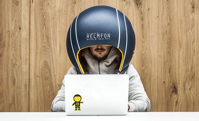 Този шлем ще ви спаси от шума в офиса