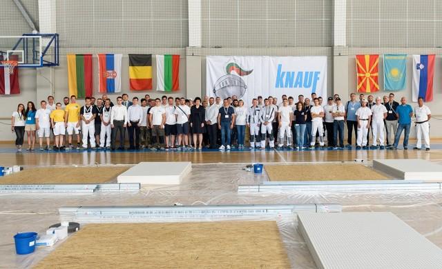 Кнауф България със състезание по сухо строителство за ученици