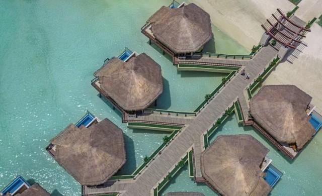 Бунгала над водата и със стъклено дъно - вече и в Мексико