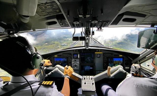 Тайна система не позволява мразещи се пилоти да споделят кокпита