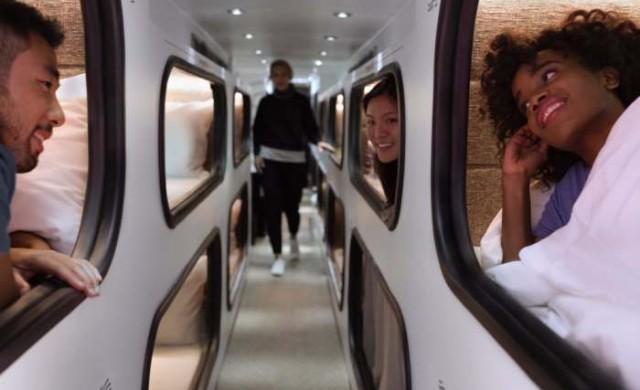 В този автобус можете да спите като бебе