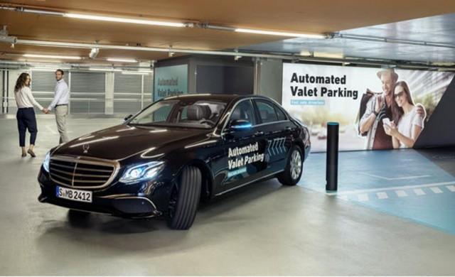 Колите на Mercedes ще могат да паркират сами