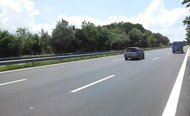 Завърши ремонтът на магистрала Черно море (снимки)