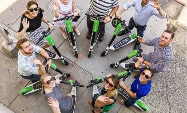 Uber инвестира в скутери под наем