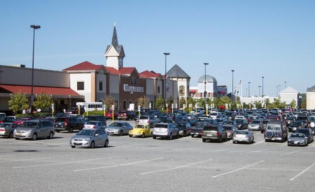 В САЩ има много място за паркиране и това е проблем