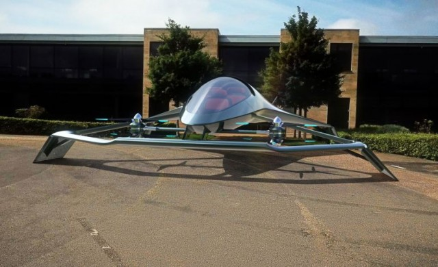 Aston Martin представи своята визия за летящ автомобил