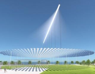 Този масивен соларен лъч зарежда с ток 220 къщи