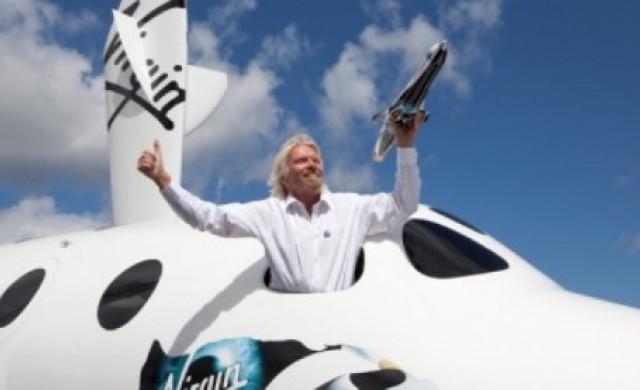 Космическата компания на Брансън Virgin Galactic става публична