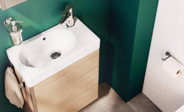 Как да превърнем малката баня в оазис? Няколко трика (снимки)