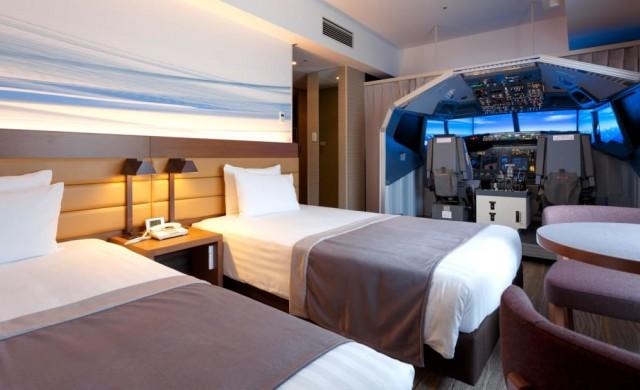 В този хотел може да се научите да пилотирате самолет