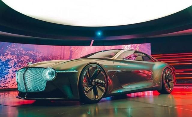 Bentley отбелязва 100-годишнината си с модела EXP 100 GT