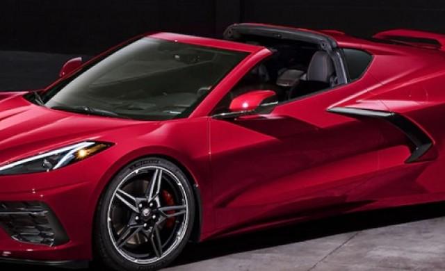 Лостът на скоростите отстъпва място на тъчскрийн в новия Corvette