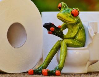 Белгиец прекара пет дни върху тоалетна чиния в опит за нов рекорд