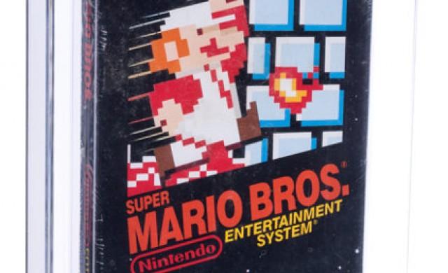 Платиха рекордните 114 000 долара за рядка игра Super Mario Bros