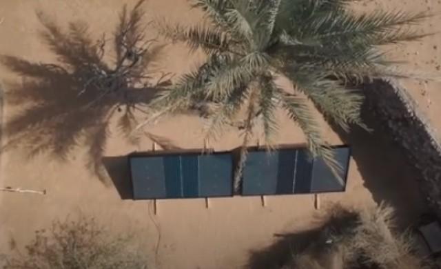В Дубай ще бутилират вода от пустинен въздух