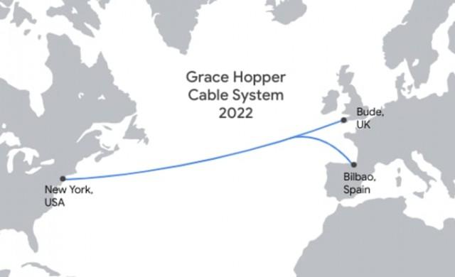 Google пуска нов оптичен кабел през океана, който ще свързва САЩ и Европа