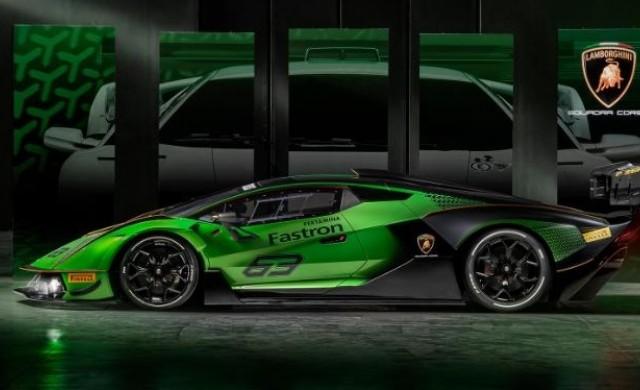 Новата суперкола на Lamborghini не може да се кара по пътищата