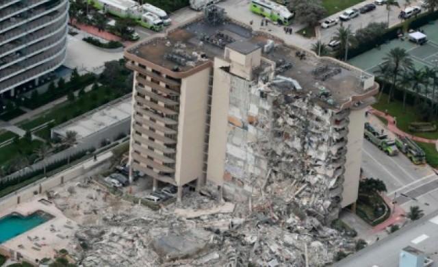 Жертвите от падналата сграда в Маями могат да надминат 100 души