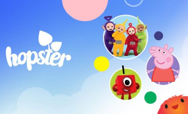 Мобилното приложение за деца Hopster става част от EON