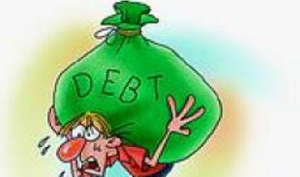 Държавният и държавногарантирания дълг в края на юли нарасна до 5.76 млрд. евро