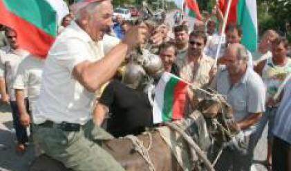 Румънски животновъди подкрепиха протеста на българските си колеги
