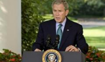Буш определи като неприемливи действията на Русия спрямо Грузия