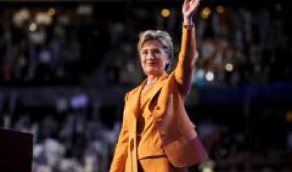 Хилари подкрепи Обама