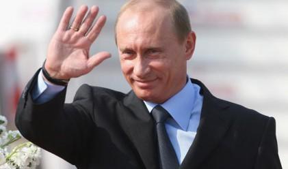 Владимир Путин пристига на официално посещение в Анкара