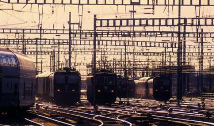 Превозените товари от жп транспорта падат с 43% за година