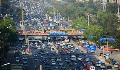 Пекин - най-големият паркинг в света