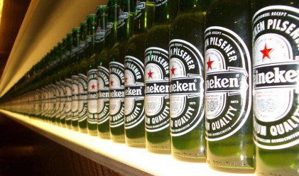 Heineken с чиста печалба от 621 млн. евро за 1-во полугодие