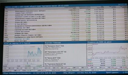 Нов спад на българските индекси