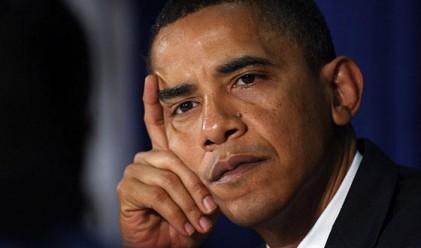 Популярността на Обама падна до най-ниското си ниво