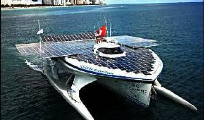 Най-големият соларен кораб е в Хонконг