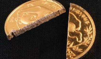 Златна монета за 2 700 лв. открадната от банка в Несебър