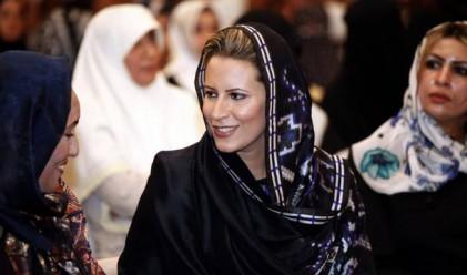 Семейството на Кадафи се спаси в Алжир