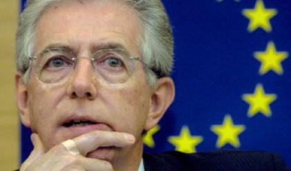 Монти: Кризата в еврозоната може да раздели Европа
