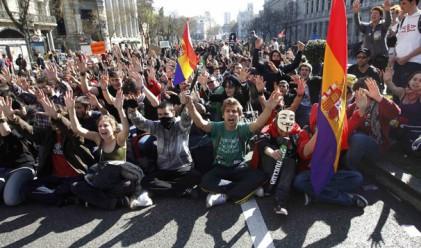 Испанци грабят магазини като протест срещу икономиите