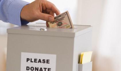 Над 104 млн. дарени за благотворителност през 2011 г.