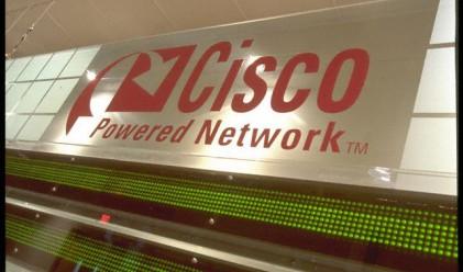 Cisco увеличи чистата си печалба с 56% за четвъртото тримесечие