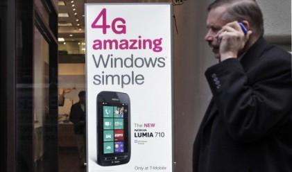 Телефоните с Windows изпреварват BlackBerry в САЩ до ноември