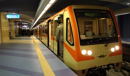 60 хил. лв. струва рязането на лентата на новата линия на метрото