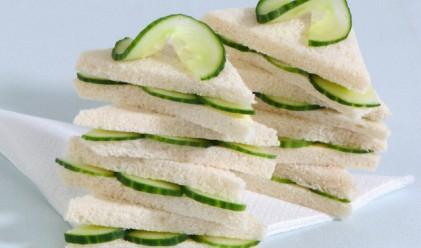 Сандвич с краставици срещу жегата