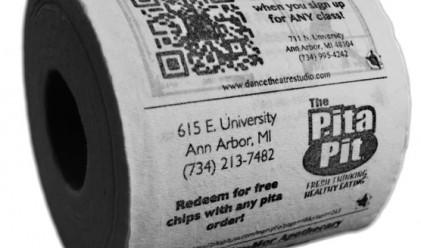 Двама братя успешно продават реклама върху тоалетна хартия