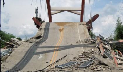 8 големи моста са паднали за 5 години в Китай