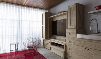 Апартамент от 36 квадрата в Бразилия