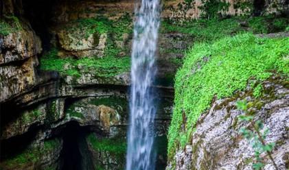Водопадът Баатара – перлата на Ливан