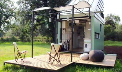 Къщичка от 17 квадрата на слънчева енергия