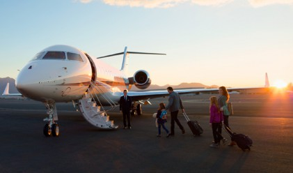Обядът е по-вкусен, ако долетиш с частен самолет