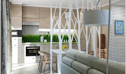 10 стилни подвижни стени